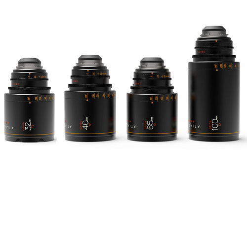 Atlas Orion Anamorphic Lens hire - 4 lens kit - RENTaCAM Sydney