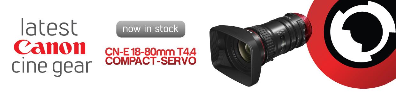 Canon 18-80mm T4.4 SERVO cinema zoom lens hire RENTaCAM Sydney