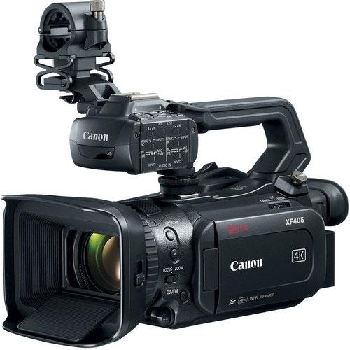 Canon XF405 Camcorder with HDMI 2.0 & 3G-SDI hire RENTaCAM Sydney