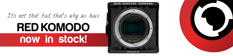 RED KOMODO camera hire web banner - RENTaCAM Sydney