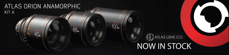 Atlas Orion Anamorphic lens hire RENTaCAM Sydney - web banner