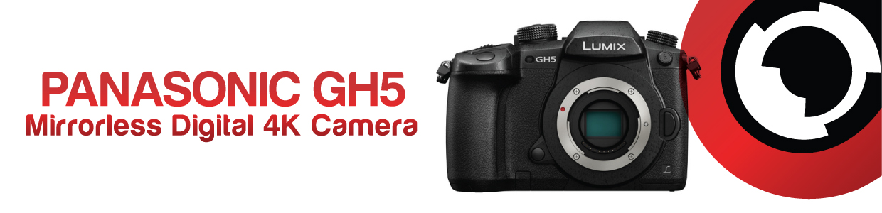 Panasonic Lumix DC-GH5 Mirrorless Micro Four Thirds Digital Camera hire RENTaCAM Sydney