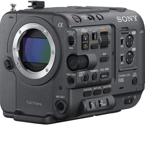 Sony FX6 Full Frame Cinema Camera hire - RENTaCAM Sydney
